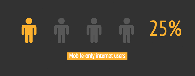 Mobile-only internet users