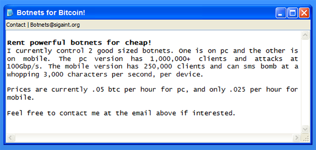 botnet-for-rent